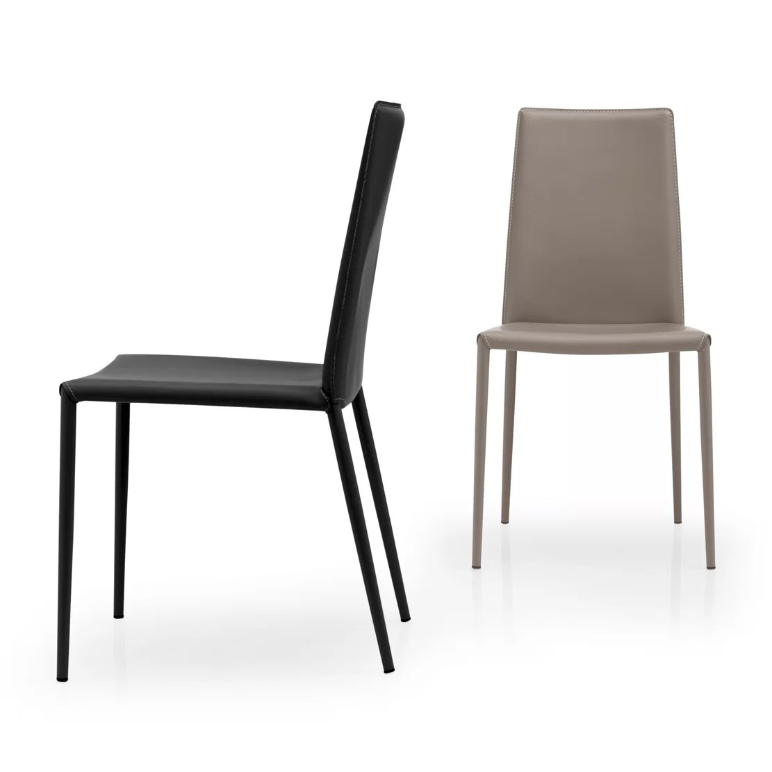 Sedia Calligaris Aida Soft Calligaris Chaise Bess Side Chair By Calligaris Claire Dining
