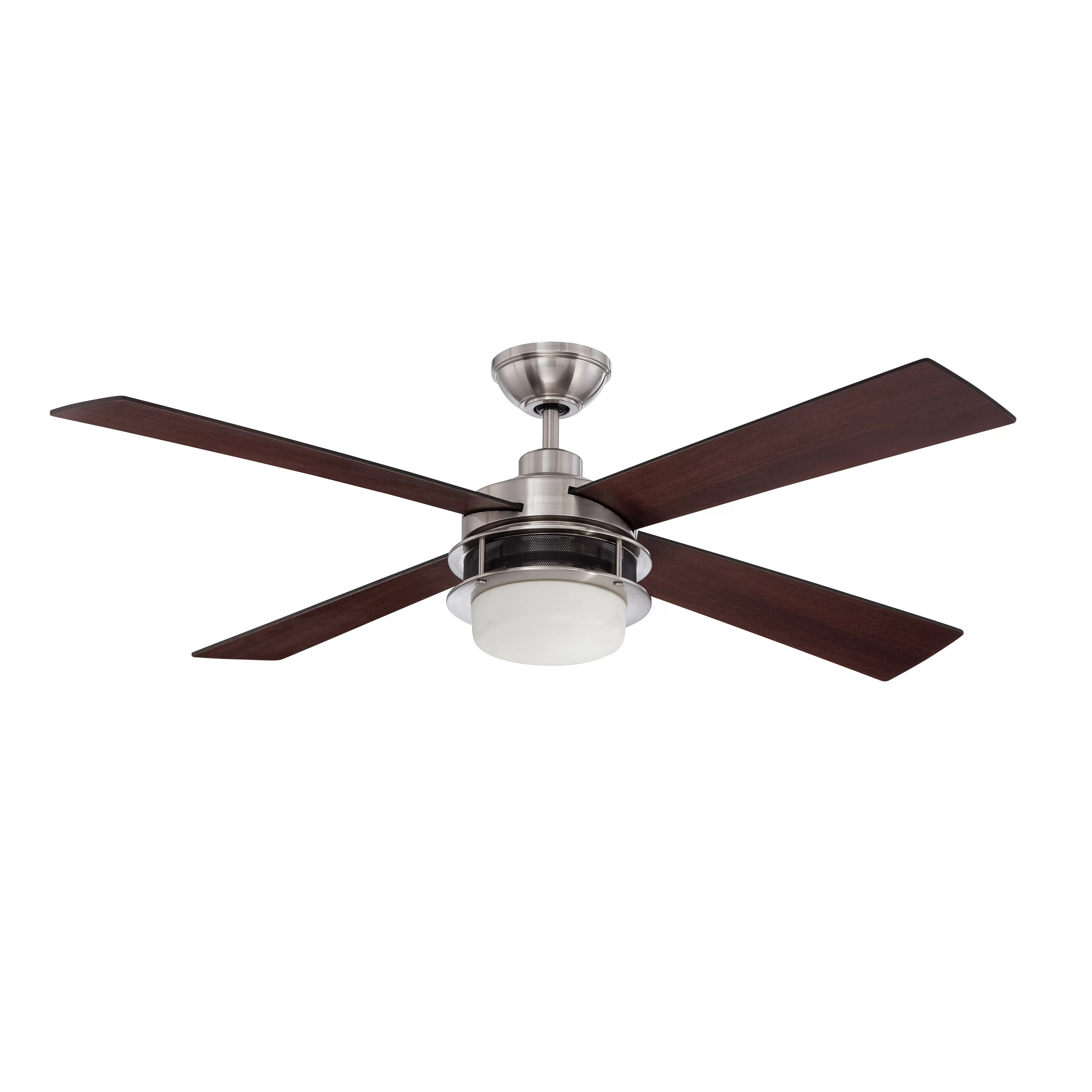 """Craftmade 52"""" Urban Breeze 4 Blade Ceiling Fan with Wall"""