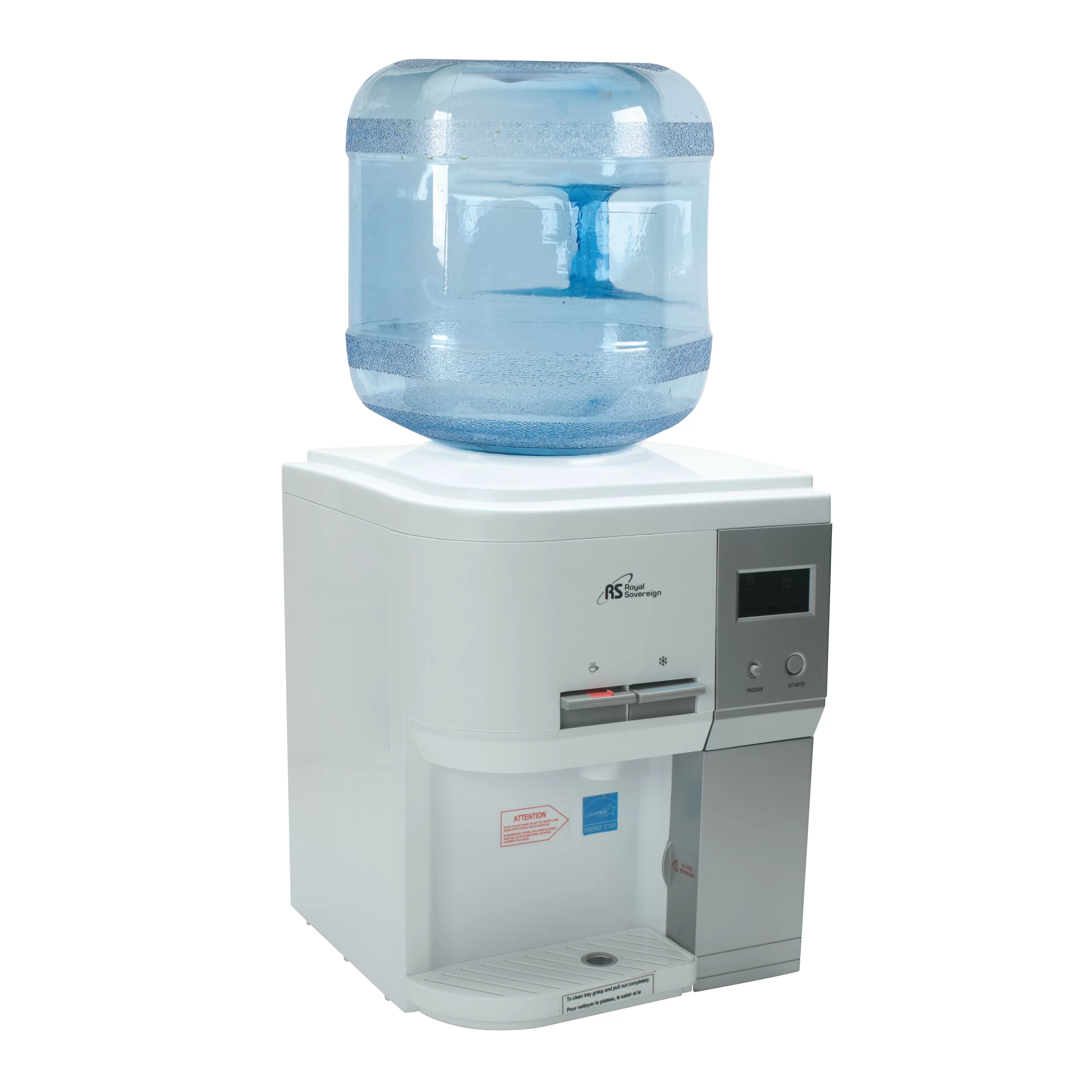 Countertop Drinking Fountain Royal Sovereign International Countertop Hot Cold And
