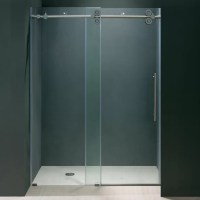 Vigo Elan 44 to 48-in. Frameless Sliding Shower Door with ...