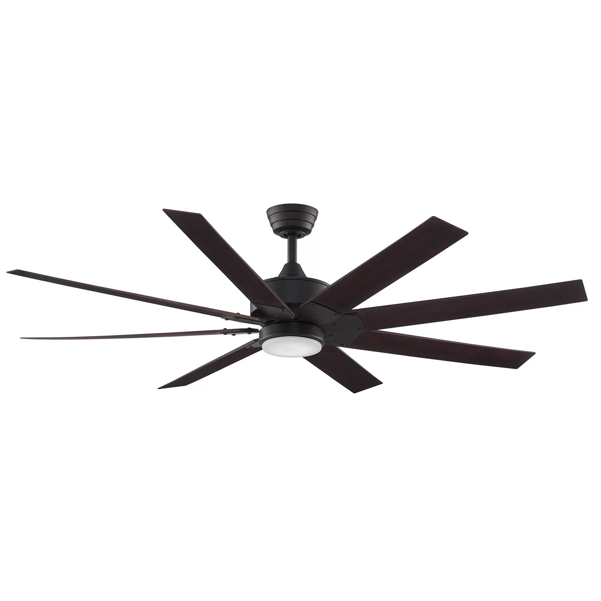 Eight Bladed Ceiling Fan Fanimation 63 Quot Levon 8 Blade Ceiling Fan And Reviews Wayfair