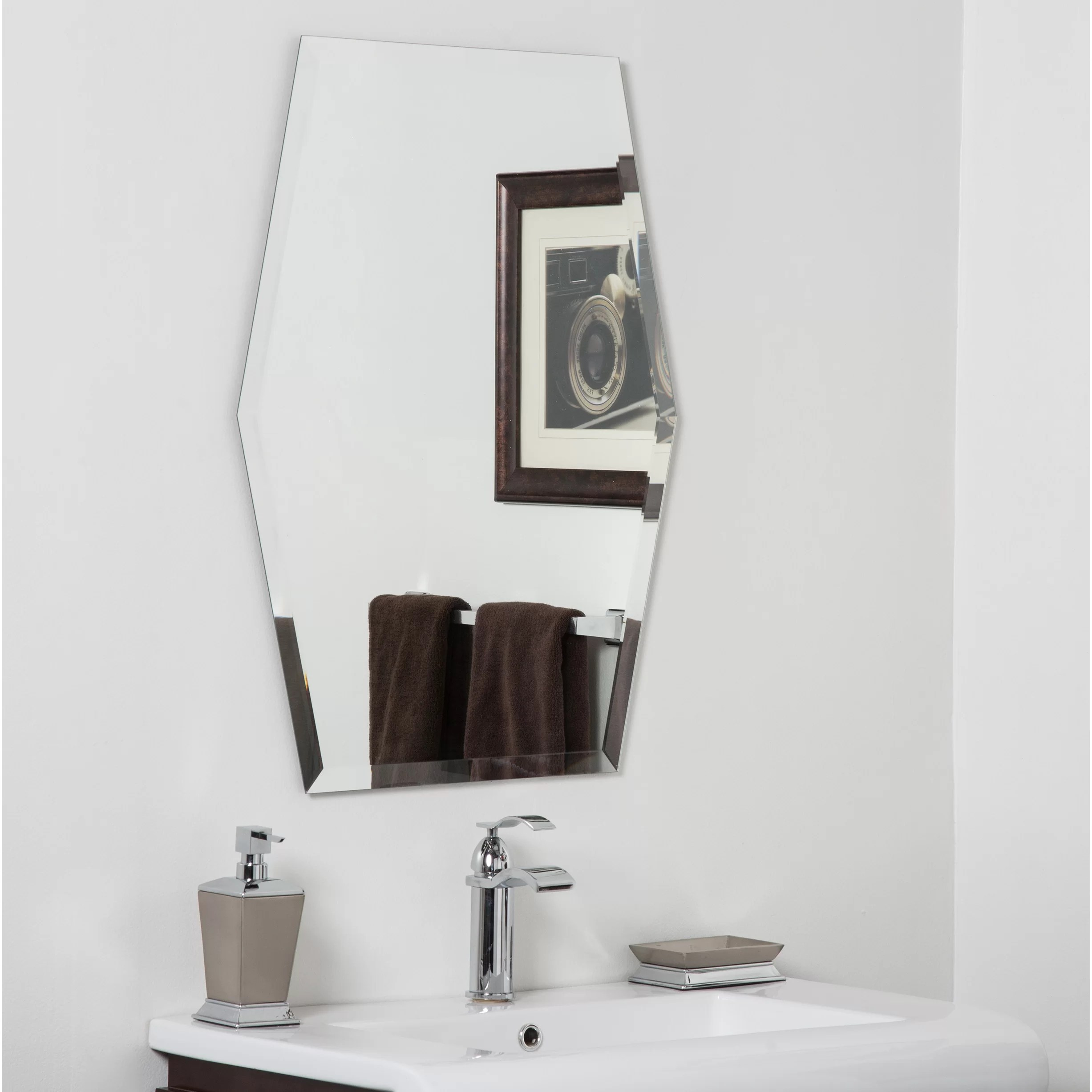 Decorative Bathroom Mirrors Sale Decor Wonderland Century Bathroom Wall Mirror Wayfair