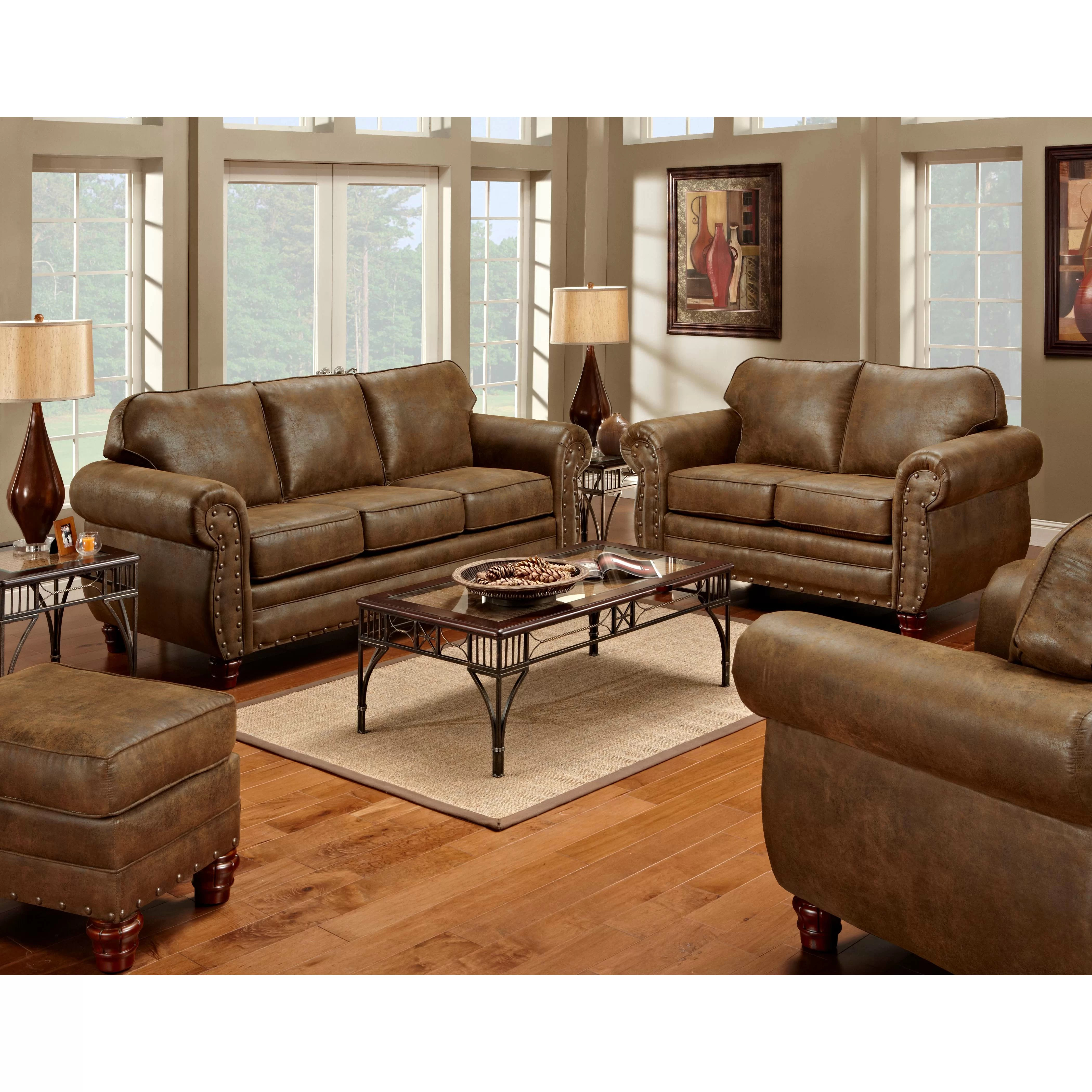 Sleeper Sofa Living Room Sets American Furniture Classics Sedona 4 Piece Living Room Set