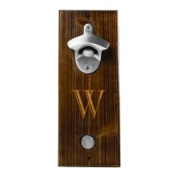 Cathys Concepts Personalized Wall Mount Bottle Opener ...
