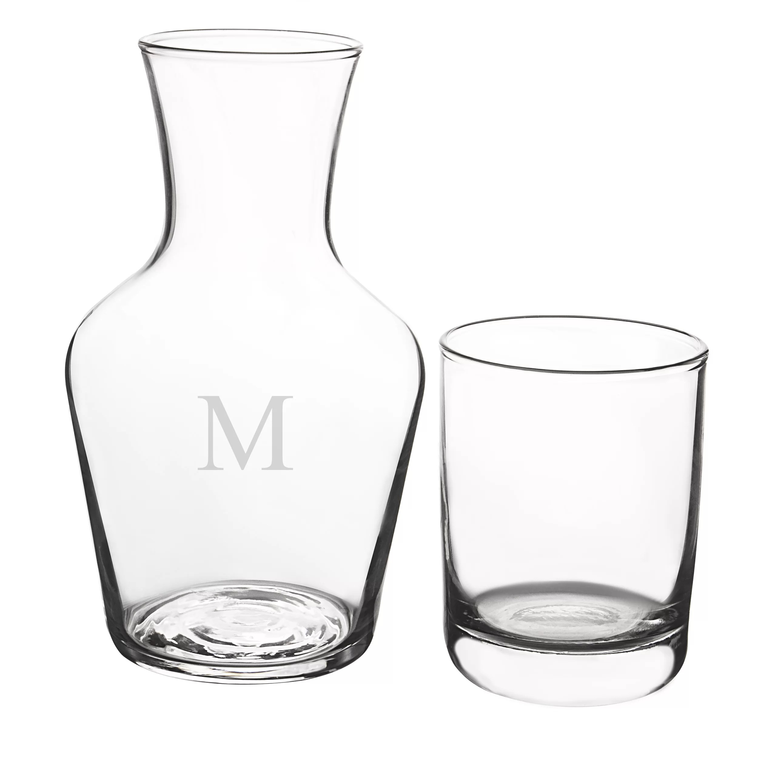 Bedside Water Carafe And Glass Cathys Concepts 2 Piece Carafe Set And Reviews Wayfair