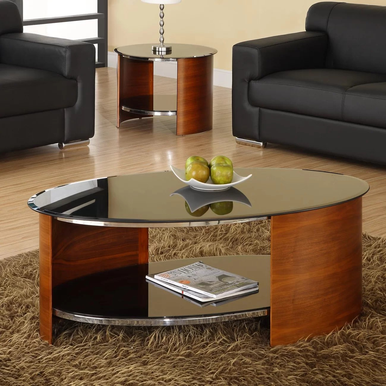 Couchtisch Curve Von Jual Jual Curve Coffee Table With Magazine Rack And Reviews