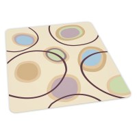 ES Robbins Circles Design Chair Mat & Reviews | Wayfair