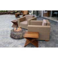 Bond Pinyon Steel Gas Outdoor Fireplace & Reviews | Wayfair