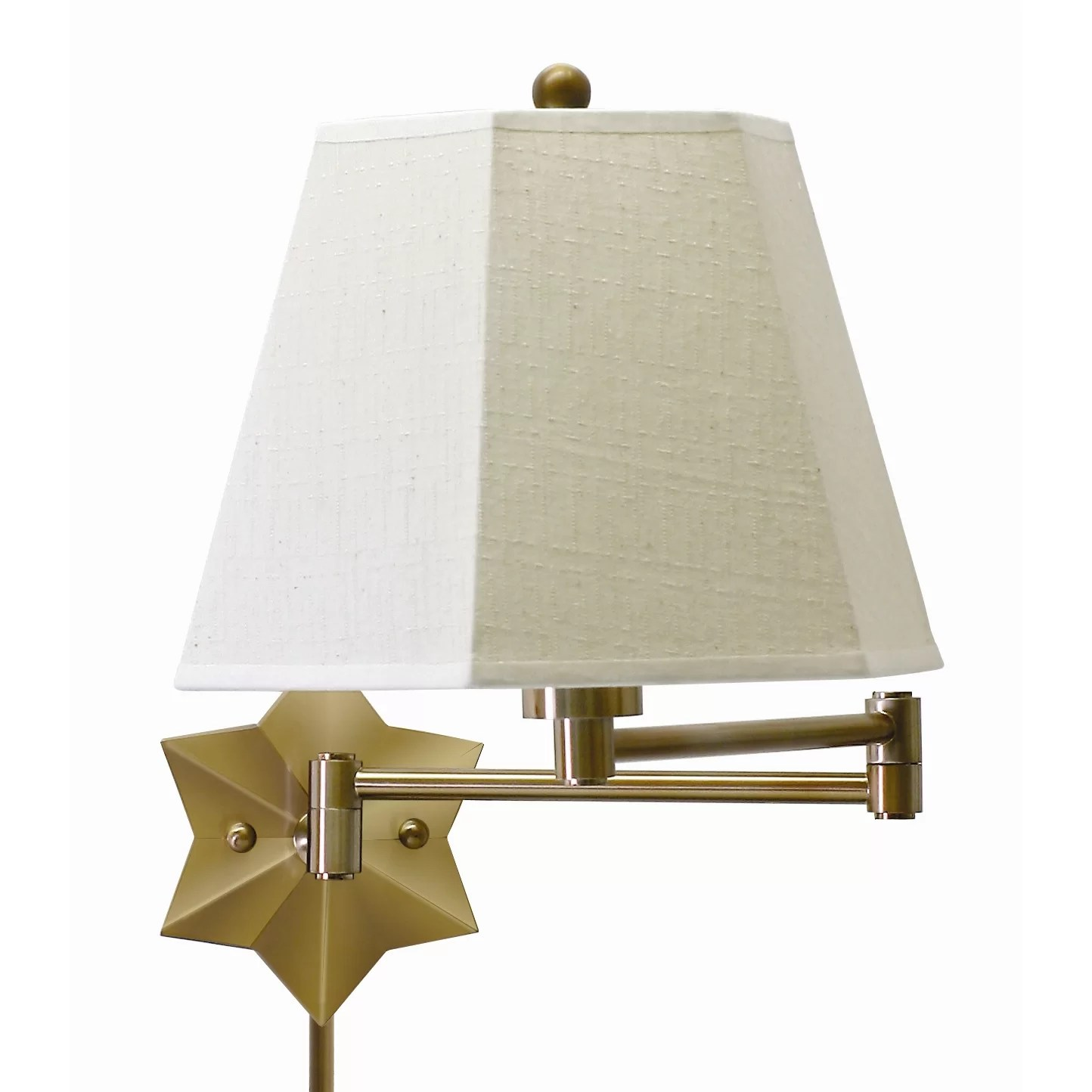 Wall Swing Arm Light House Of Troy Swing Arm Wall Lamp And Reviews Wayfair