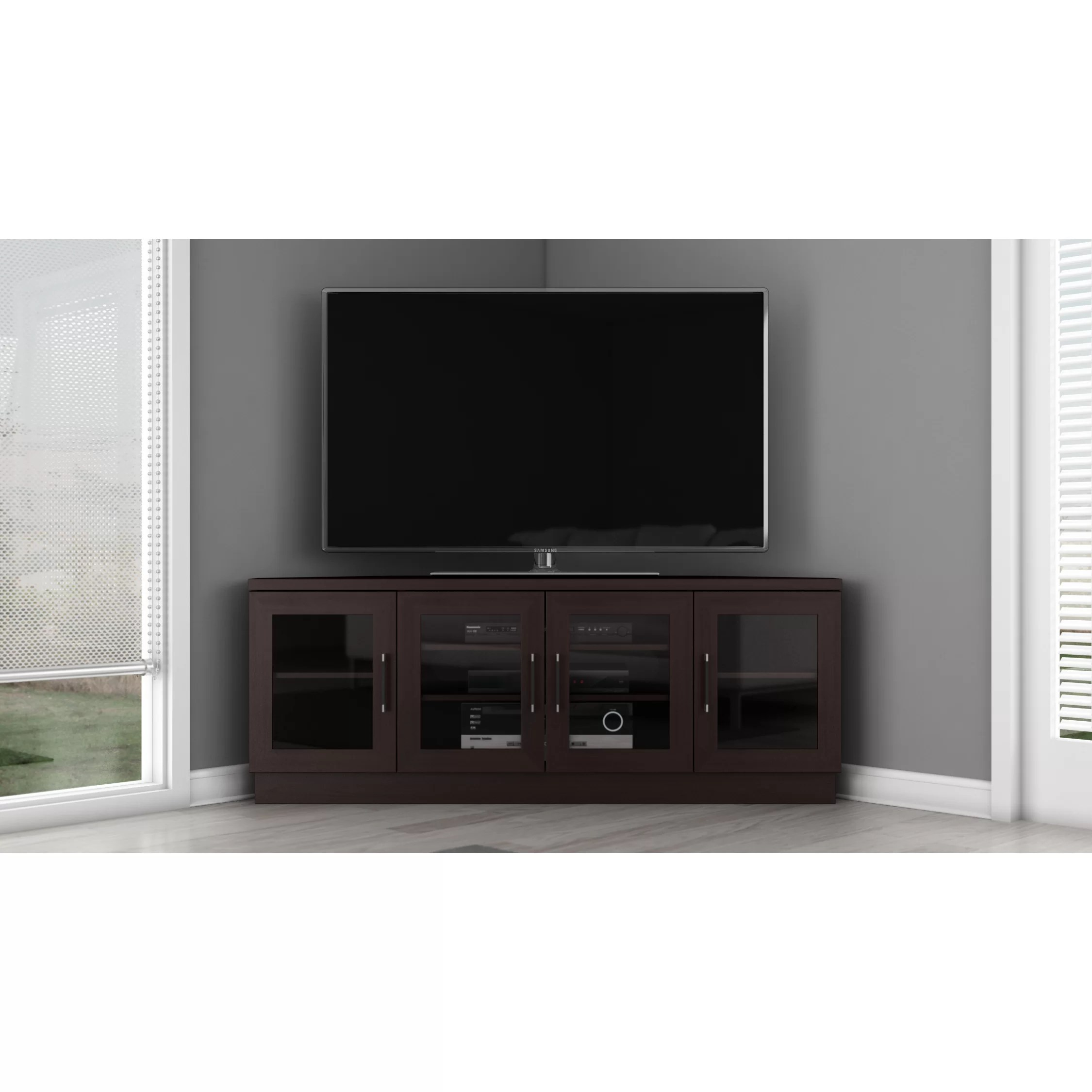 Modern Tv Base Furnitech Contemporary Tv Stand And Reviews Wayfair