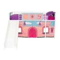 DHP Princess Castle Curtain Set for Junior Loft Bed ...