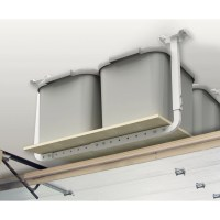 Hyloft Adjustable Ceiling Storage Kit in White & Reviews ...