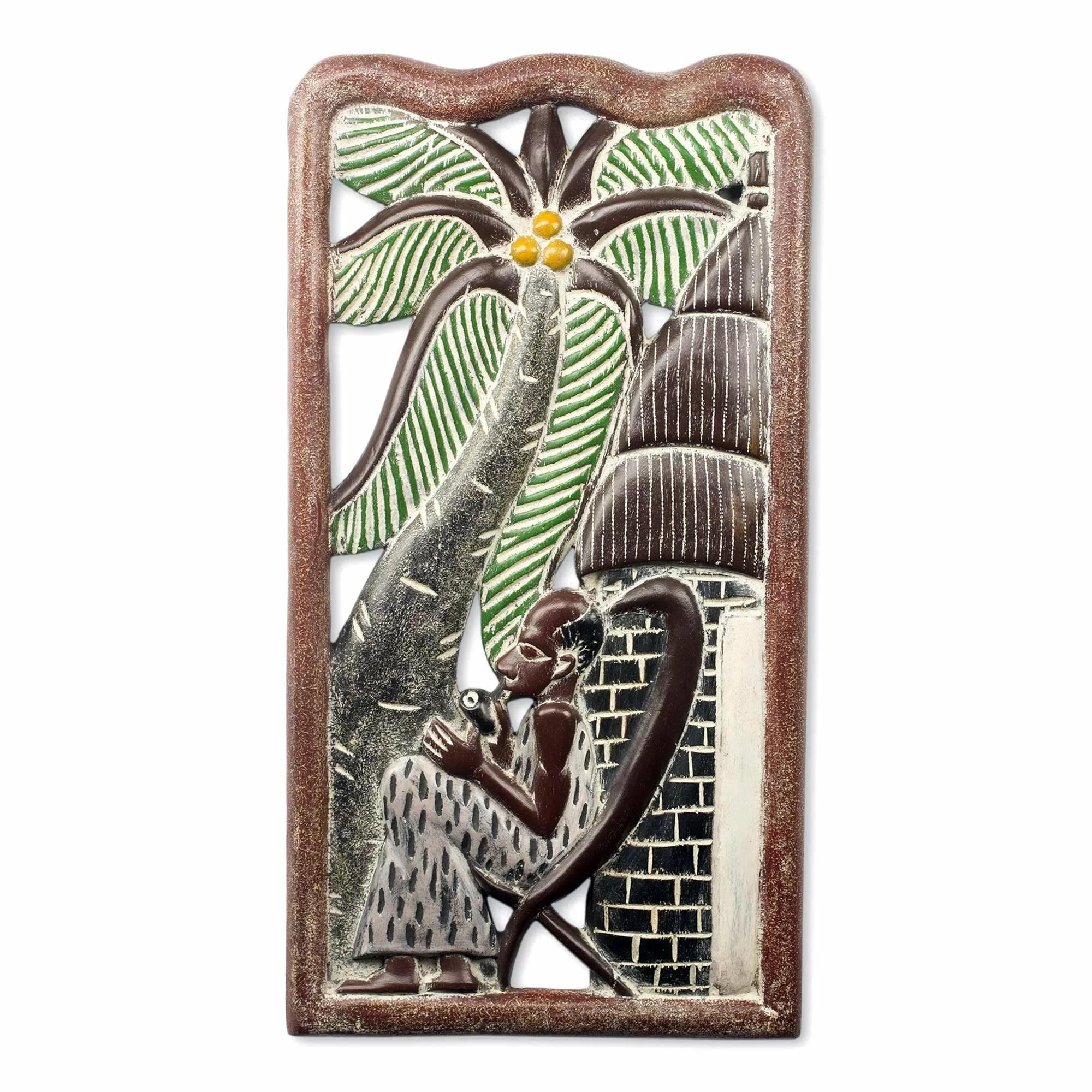 African Wooden Wall Art Novica Rejuvenate Handmade Sculpture Carved From Wood