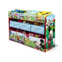 Delta Children Disney Mickey Mouse Toy Organizer & Reviews ...