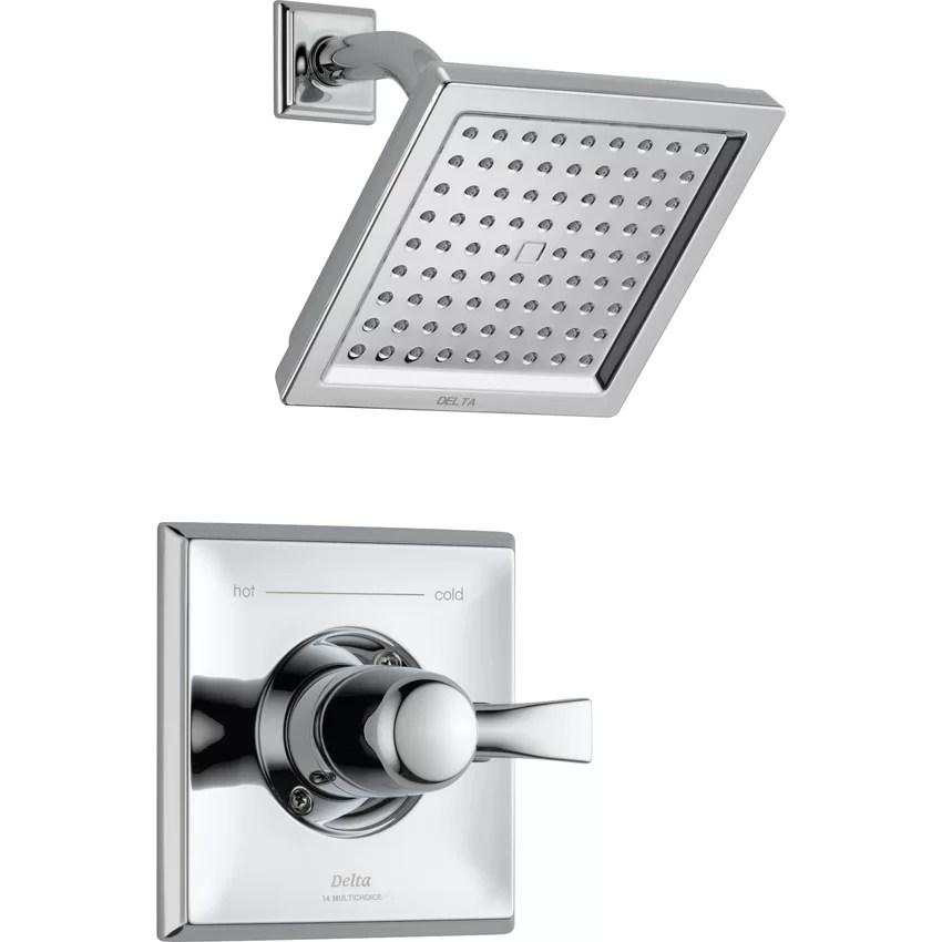 Delta Dryden Diverter Shower Faucet with Lever Handle