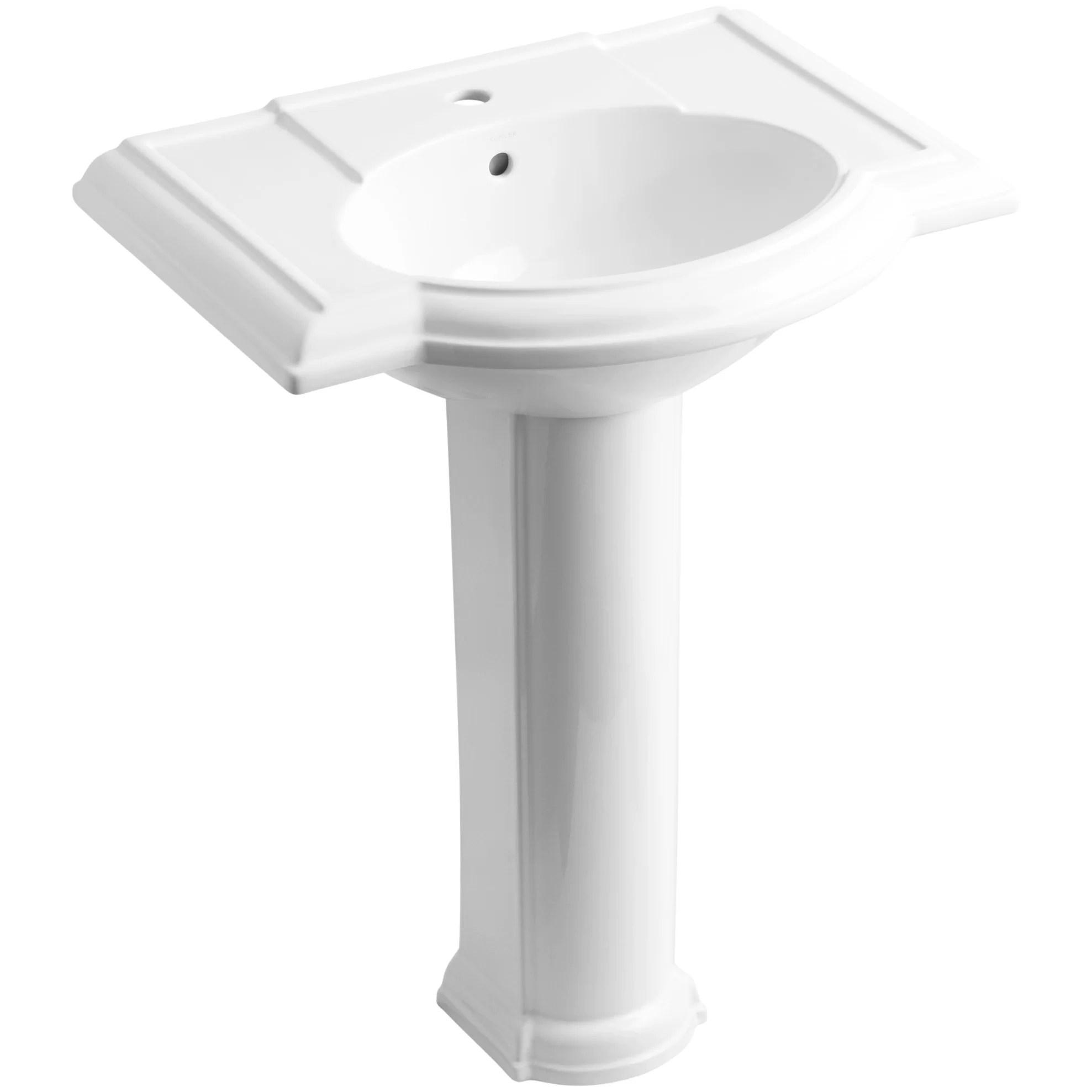 Kohler Devonshire 27quot Pedestal Bathroom Sink Reviews