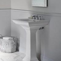 Kohler Memoirs Bathroom Sink Pedestal & Reviews | Wayfair