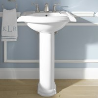 Kohler Devonshire Bathroom Sink with Single Faucet Hole ...