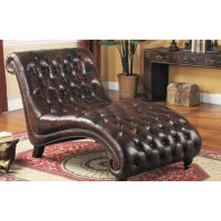 Lazzaro Leather Chaise Lounge & Reviews