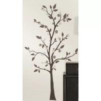 Room Mates 47 Piece Deco Mod Tree Peel and Stick Giant ...