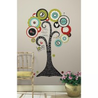 Room Mates Peel and Stick Giant 32 Piece Tree of Hope Wall ...