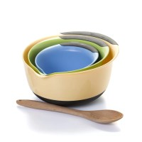 OXO Good Grips 3 Piece Plastic Mixing Bowl Set & Reviews ...