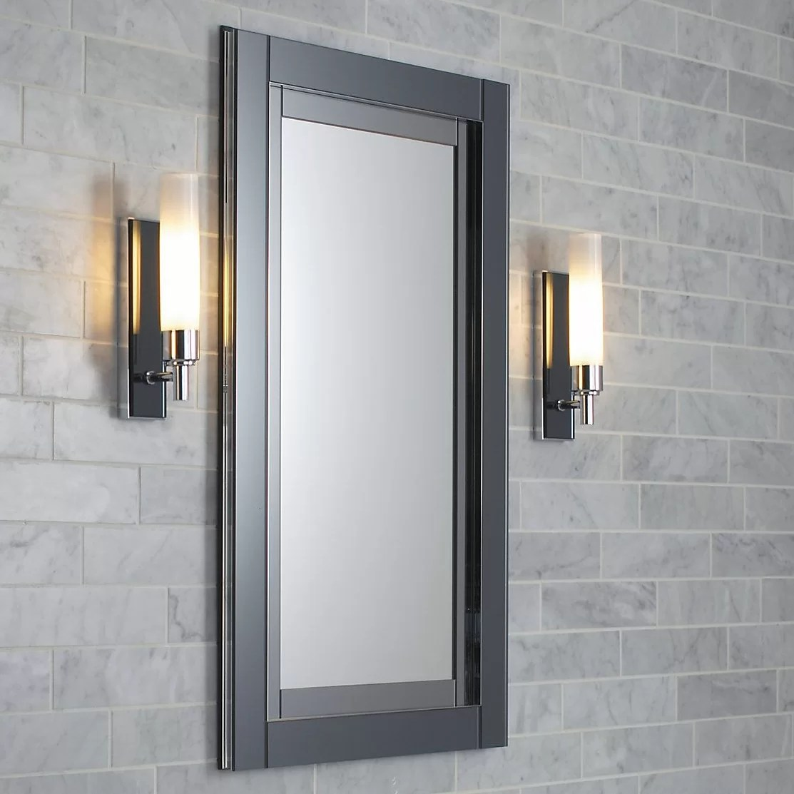 "Robern Candre 20"" x 30"" Mirrored Recessed Electric"