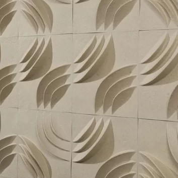 Paperforms 3d Wallpaper Tiles Mio Culture Paperforms Mio Ripple 1 X 12 Quot Abstract 3d