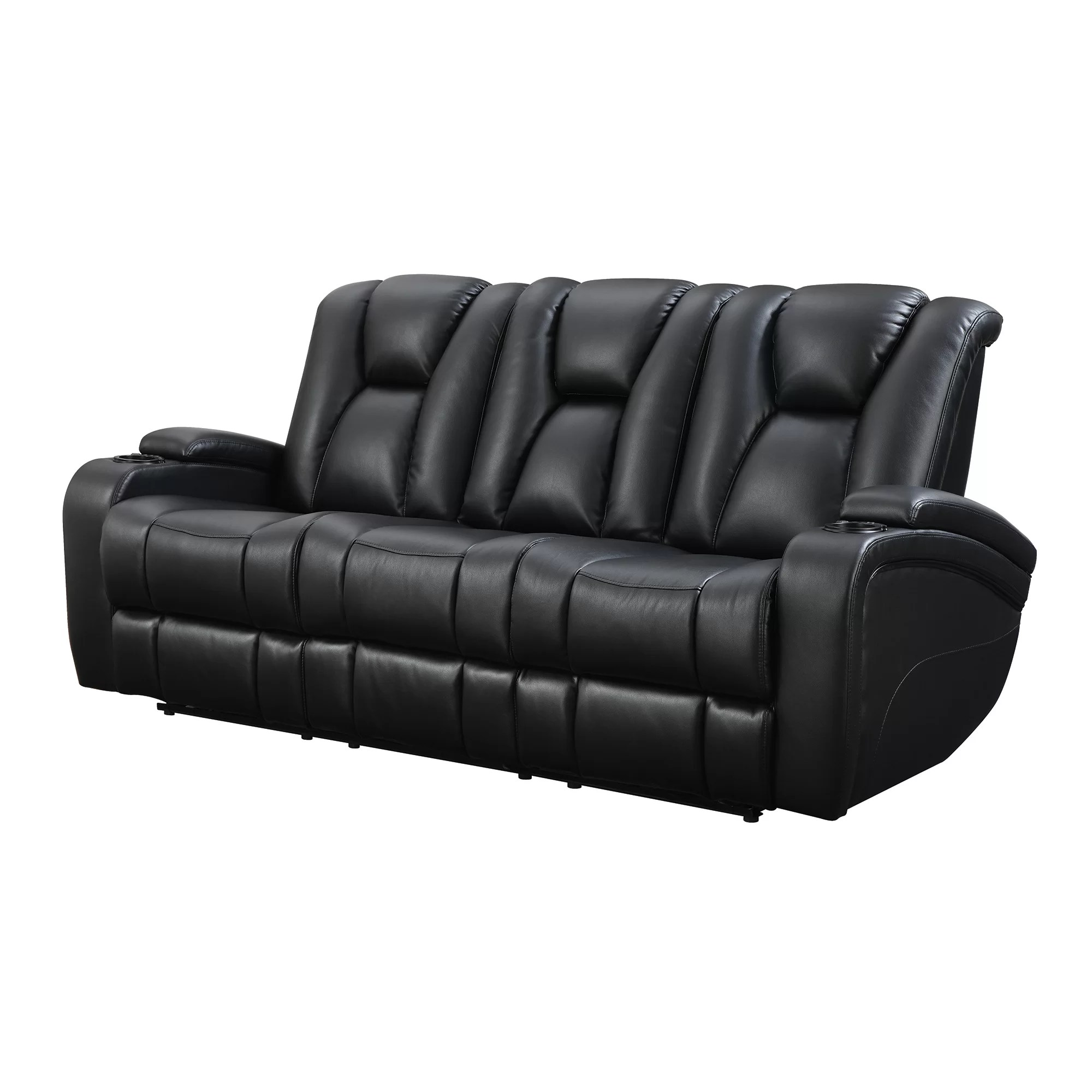 Sofology Quebec Csl Leather Recliner Sofa