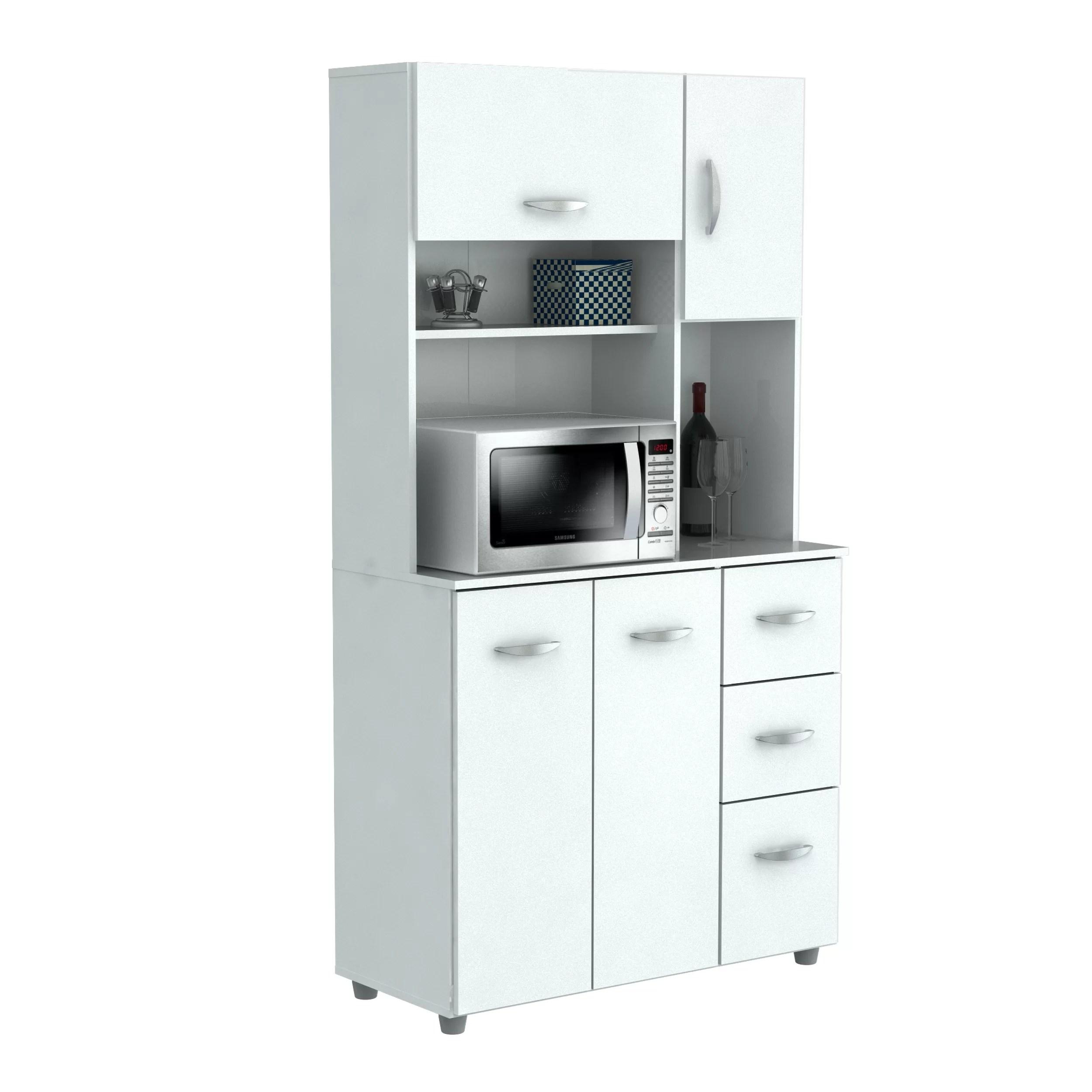 Inval 66quot Kitchen Pantry Reviews Wayfair