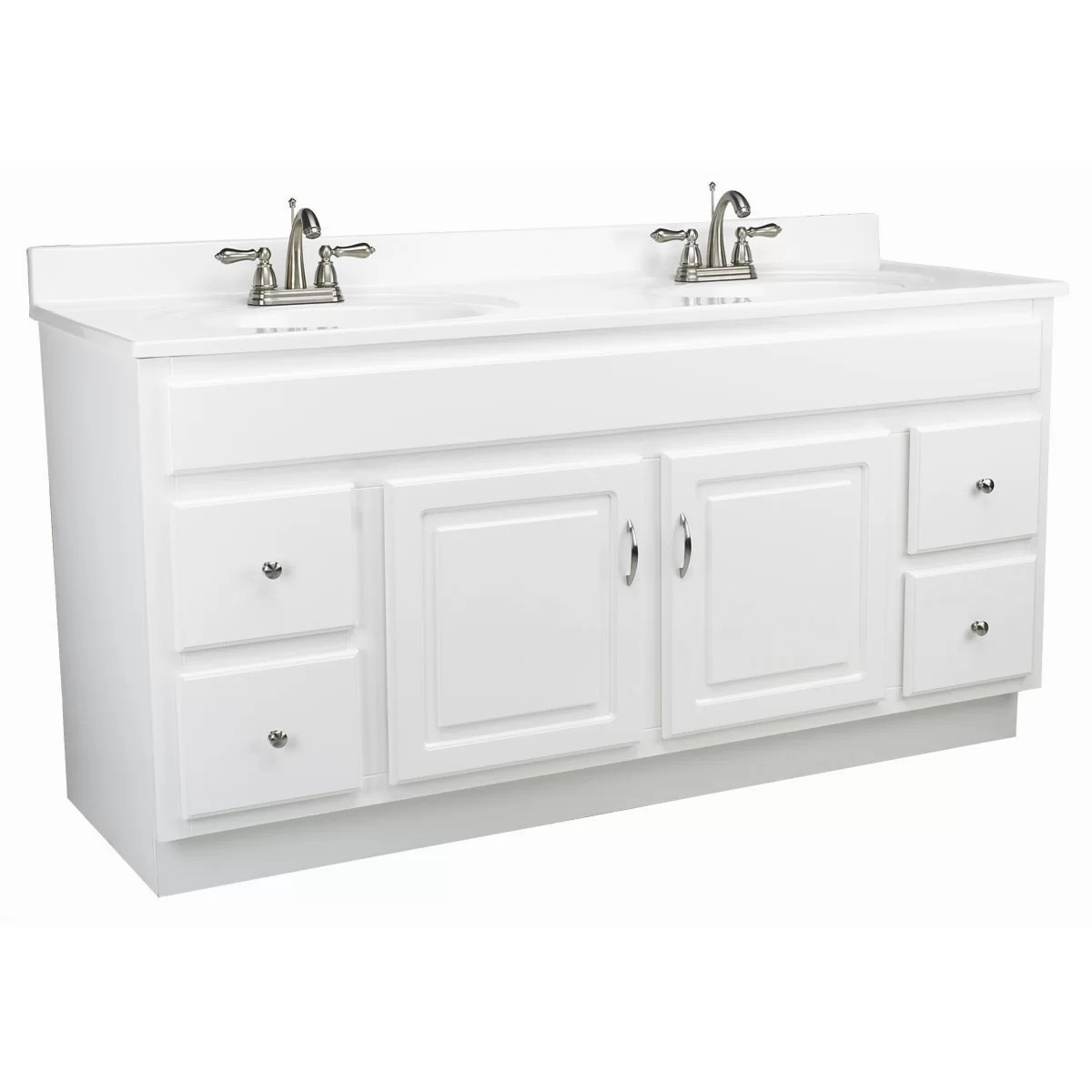 Design House Vanity Design House Concord 60 Quot Double Door Vanity Base And Reviews
