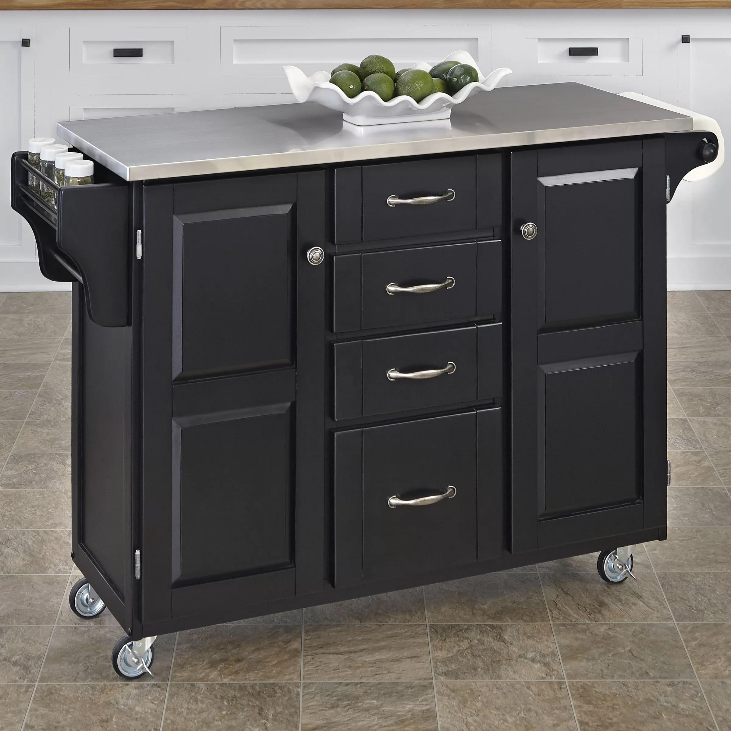 furniture kitchen dining furniture kitchen islands carts home furniture cambridge stainless steel top kitchen island white