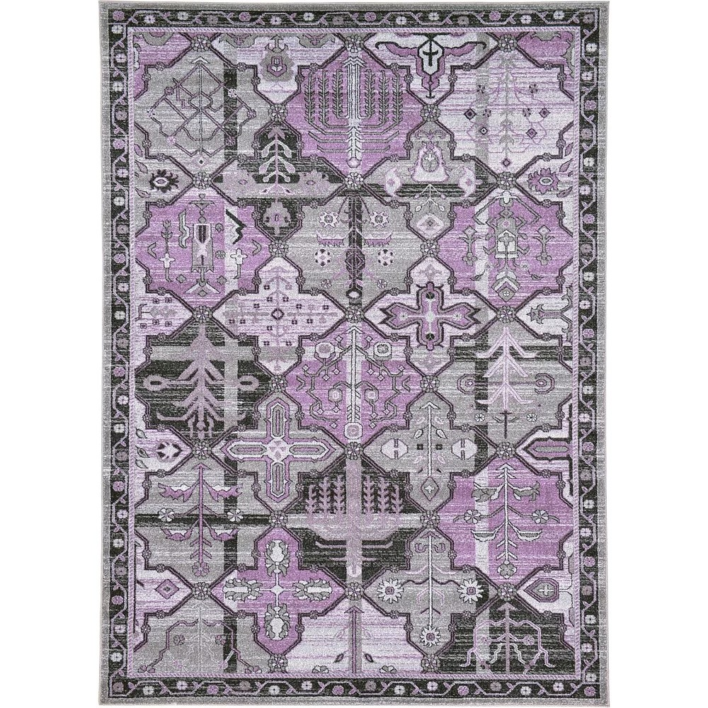 La Jolla Purple Area Rug Wayfairca