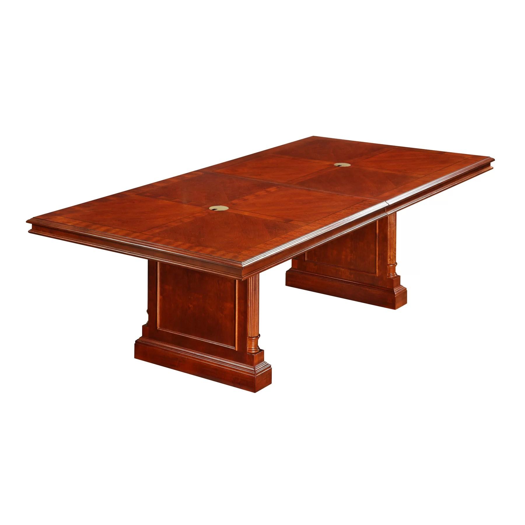 Keswick 1039 Expandable Rectangular Conference Table Wayfair