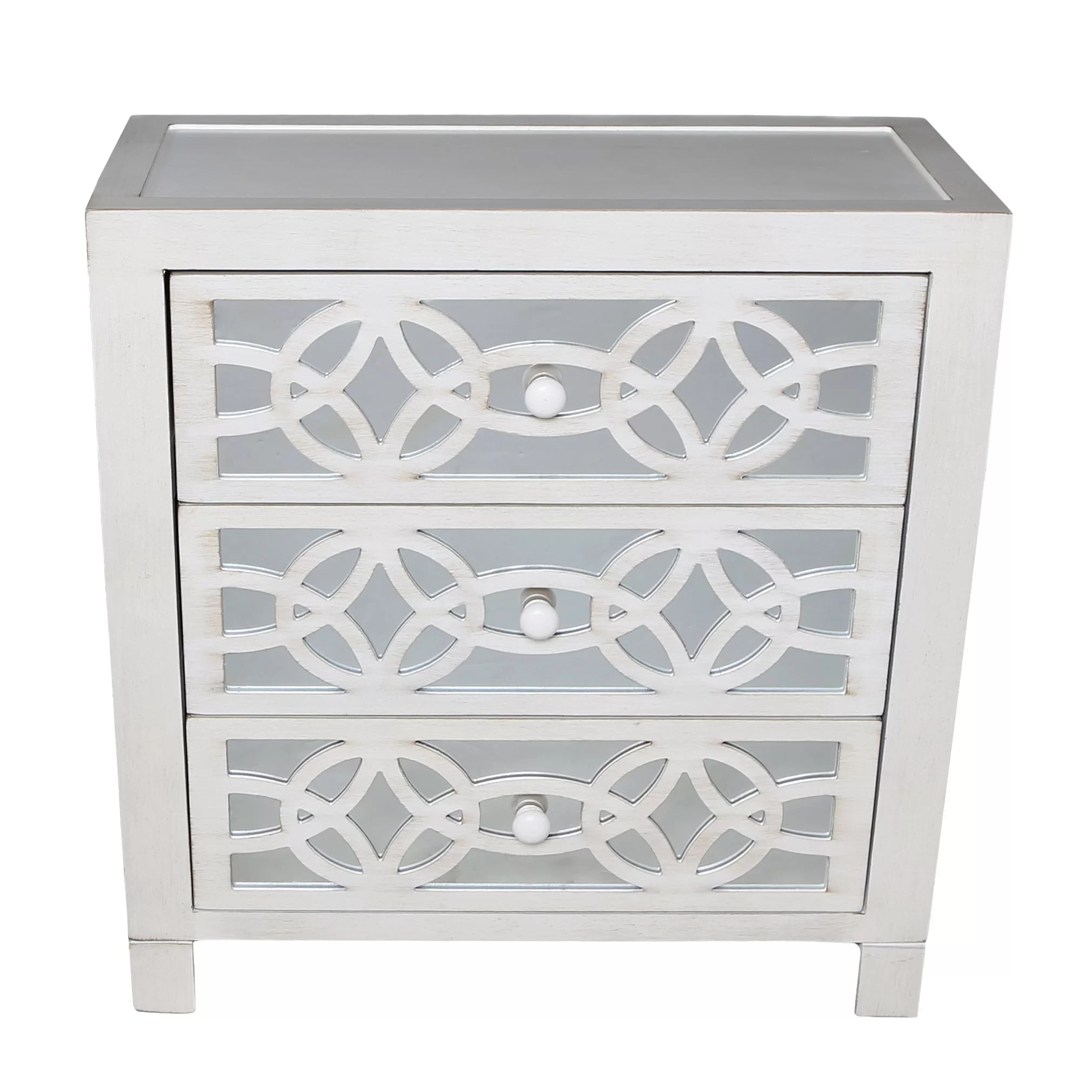 Drawers Included Mirrored Cabinets Chests You Ll Love In 2021 Wayfair