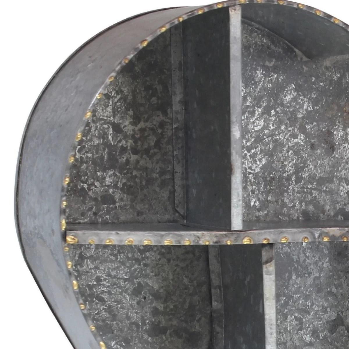 Ckk Home Decor Lp Stonebriar Heart Galvanized Metal Wall