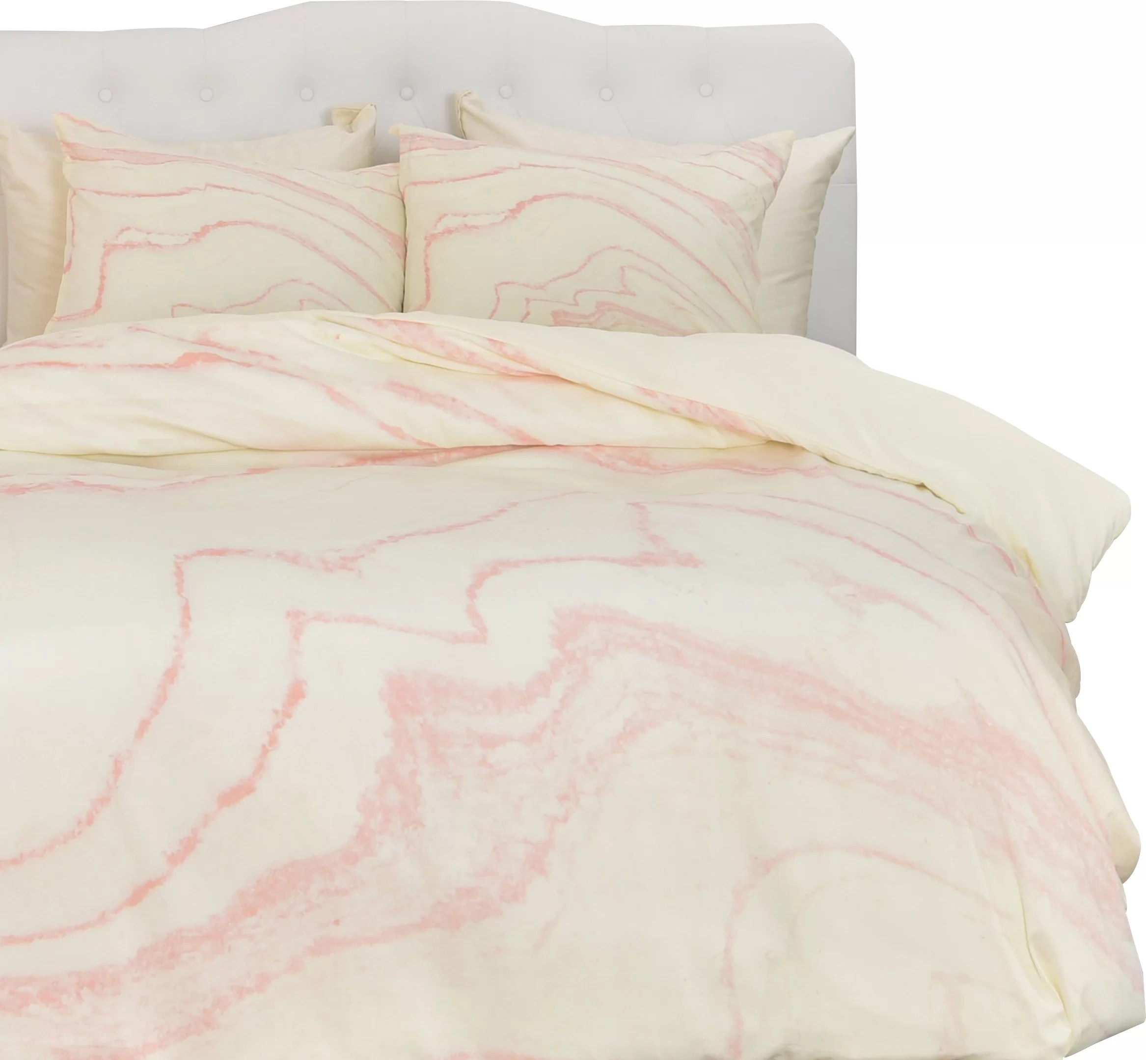 Blush Pink Quilt Cover Currans Blush Marble Duvet Cover Set