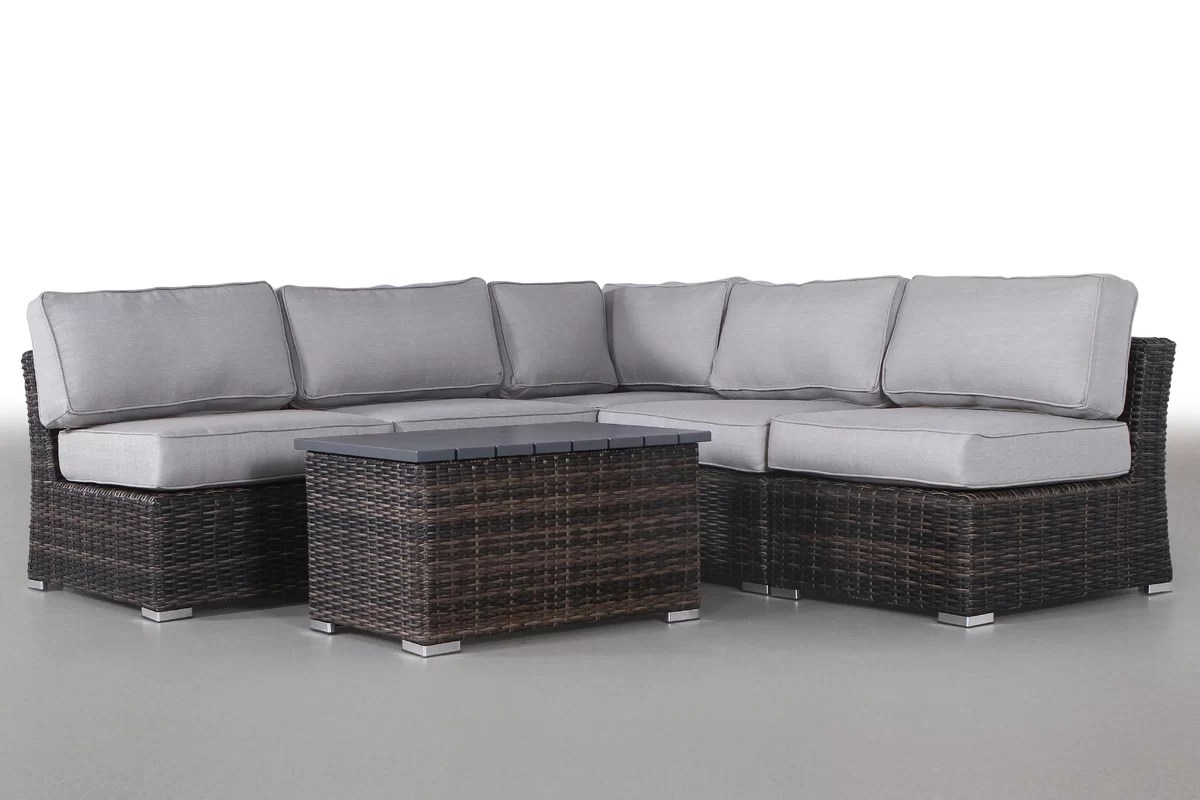 Great Price Huddleson 6 Piece Sectional Set With Cushions