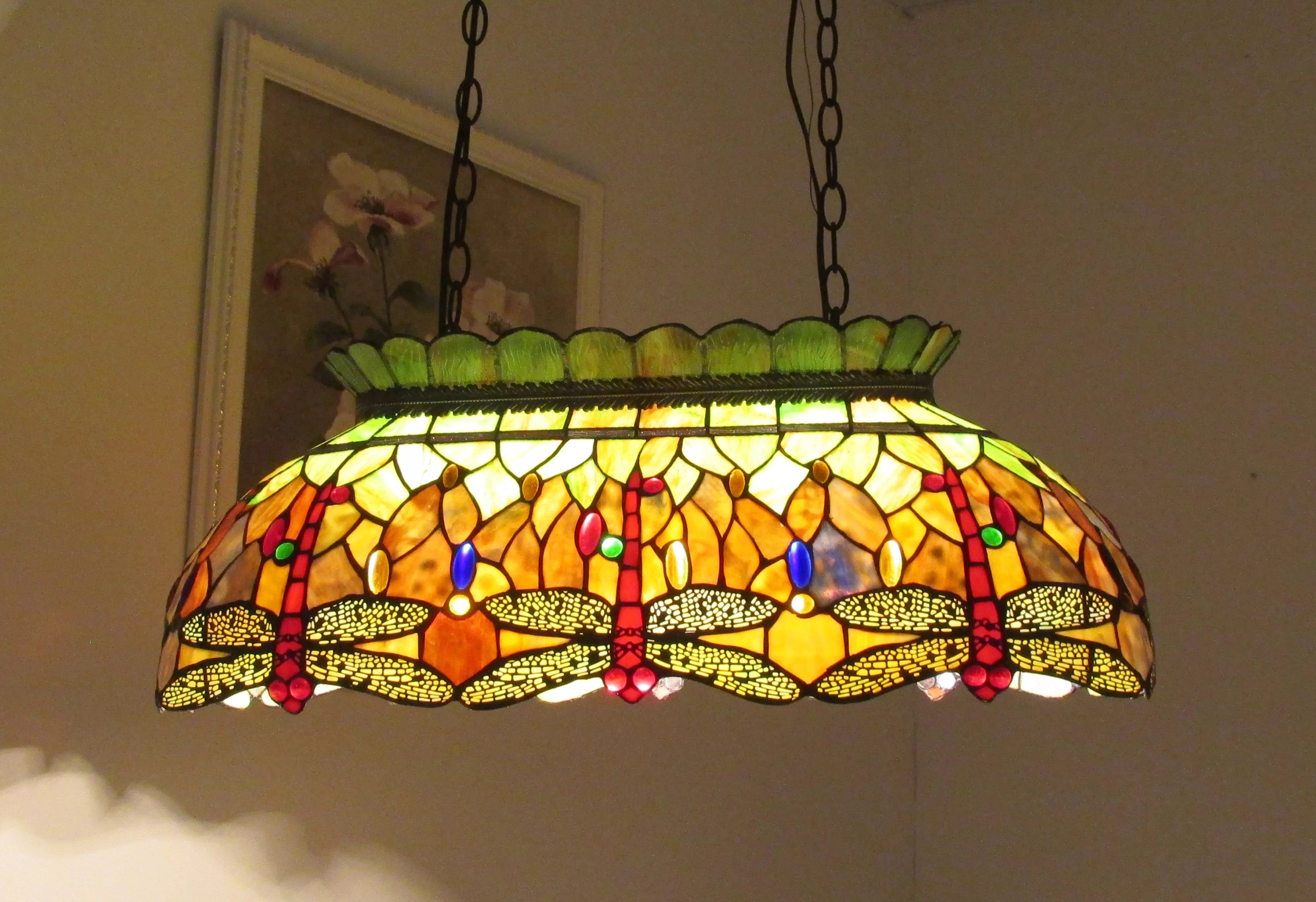 Glass Lamp Tables Ireland Pool Table Lights You Ll Love Wayfair