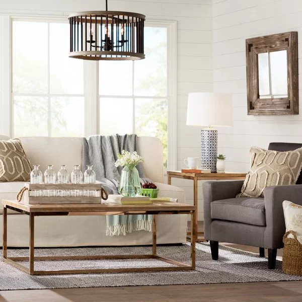 Laurel Foundry Modern Farmhouse Living Room Wayfair - farmhouse living room furniture
