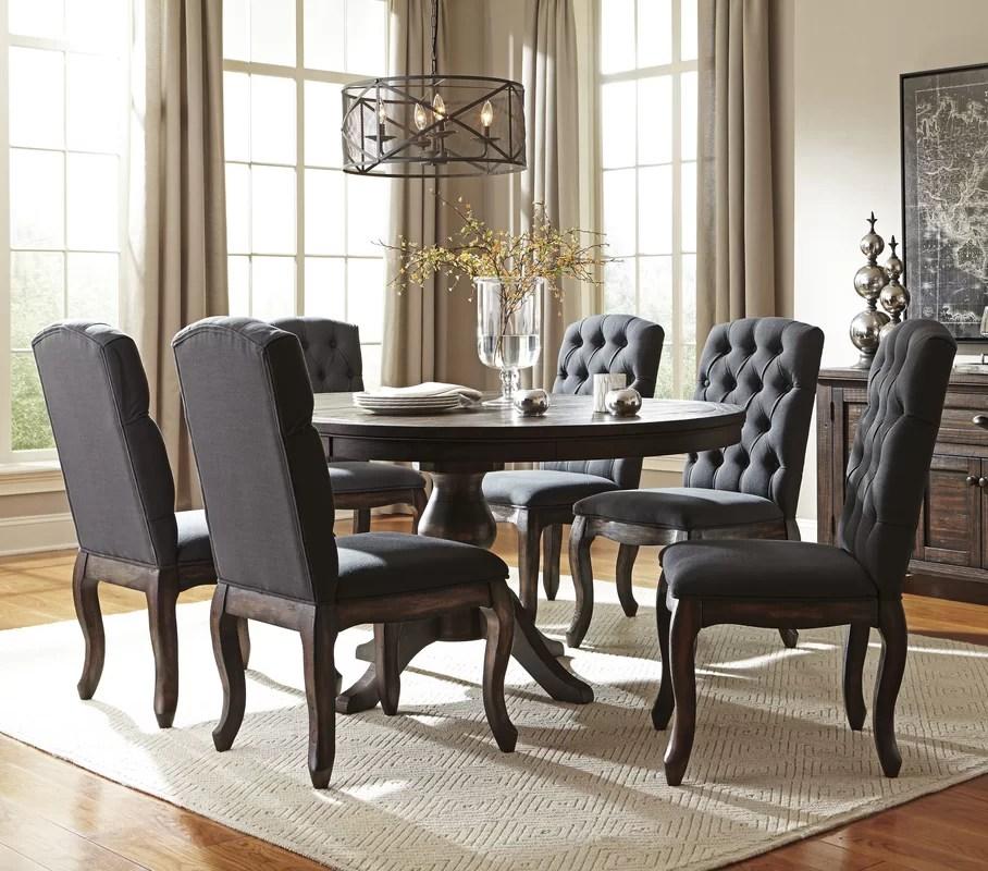 Loon Peak Baxter 7 Piece Dining Set \ Reviews Wayfair - 7 piece living room set
