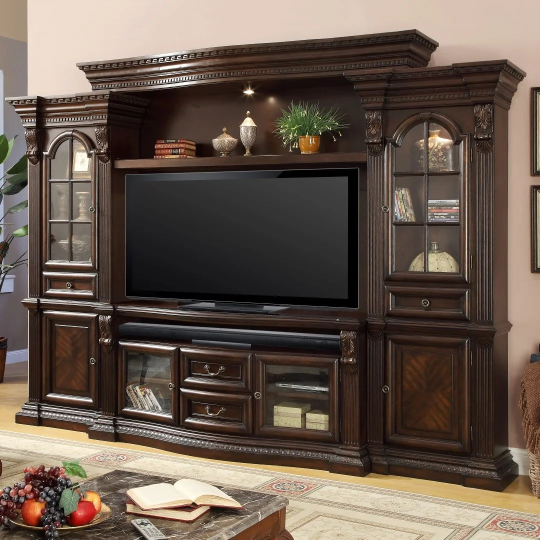 Darby Home Co Friedlander Solid Wood Entertainment Center For Tvs Up To 70