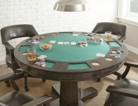 "Red Barrel Studio 52"" Malcolm Dining-Game Poker Table Set ..."