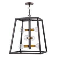 # Venetta Open Box 6-Light Square/Rectangle Lantern ...