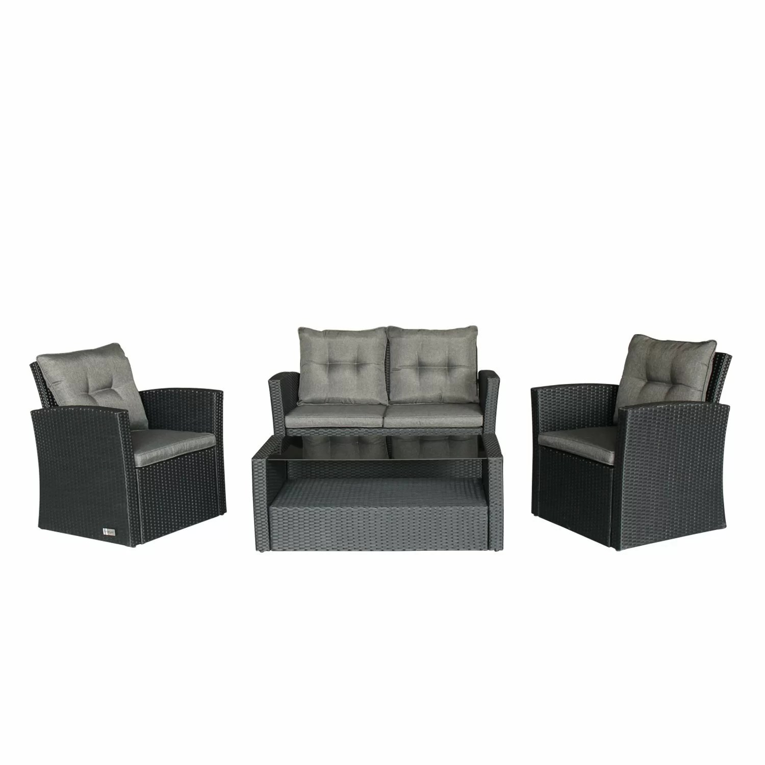 Outdoor Sofa Rattan Leidig Outdoor Complete 4 Piece Rattan Sofa Seating Group