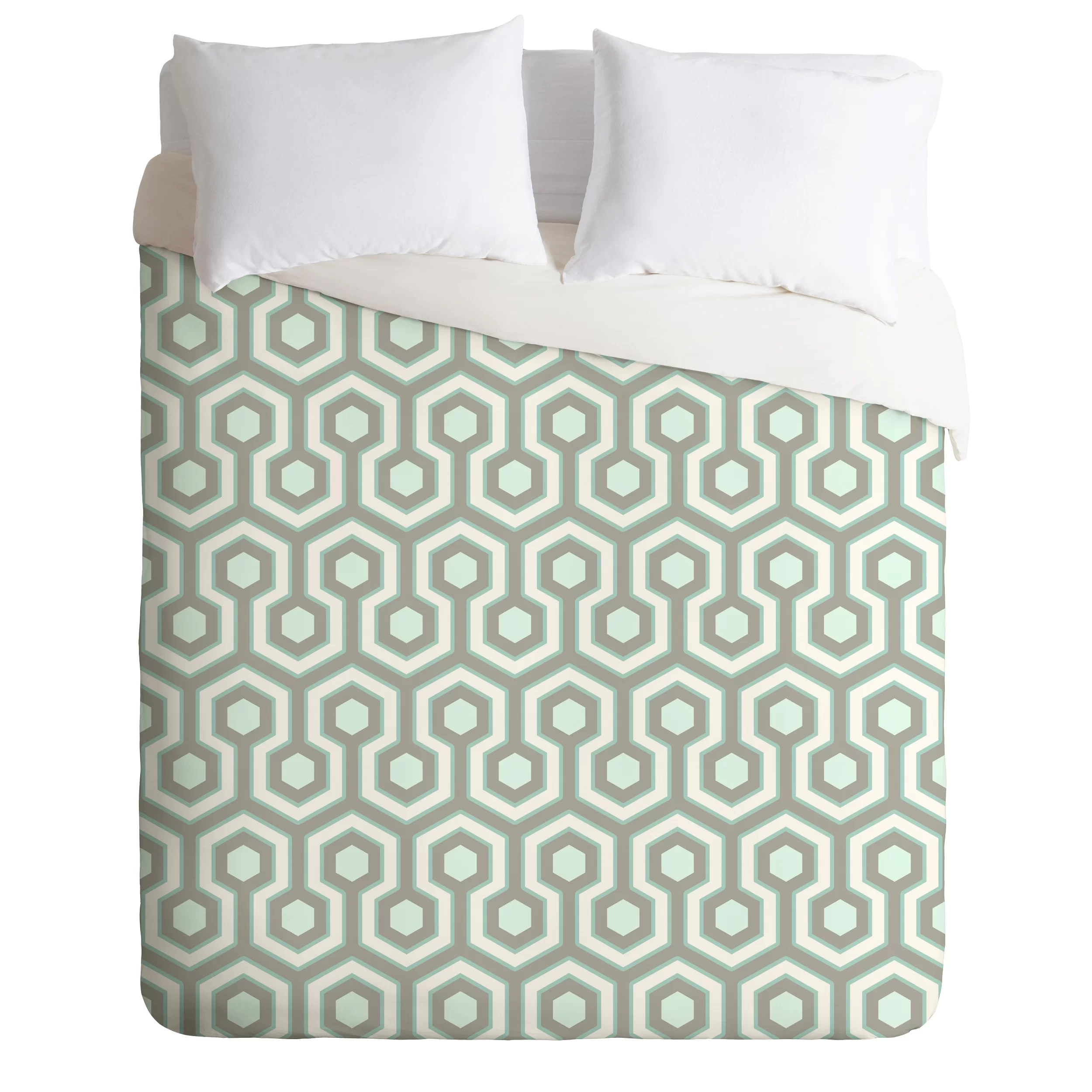 East Urban Home Lightweight Icicle Duvet Cover Wayfair