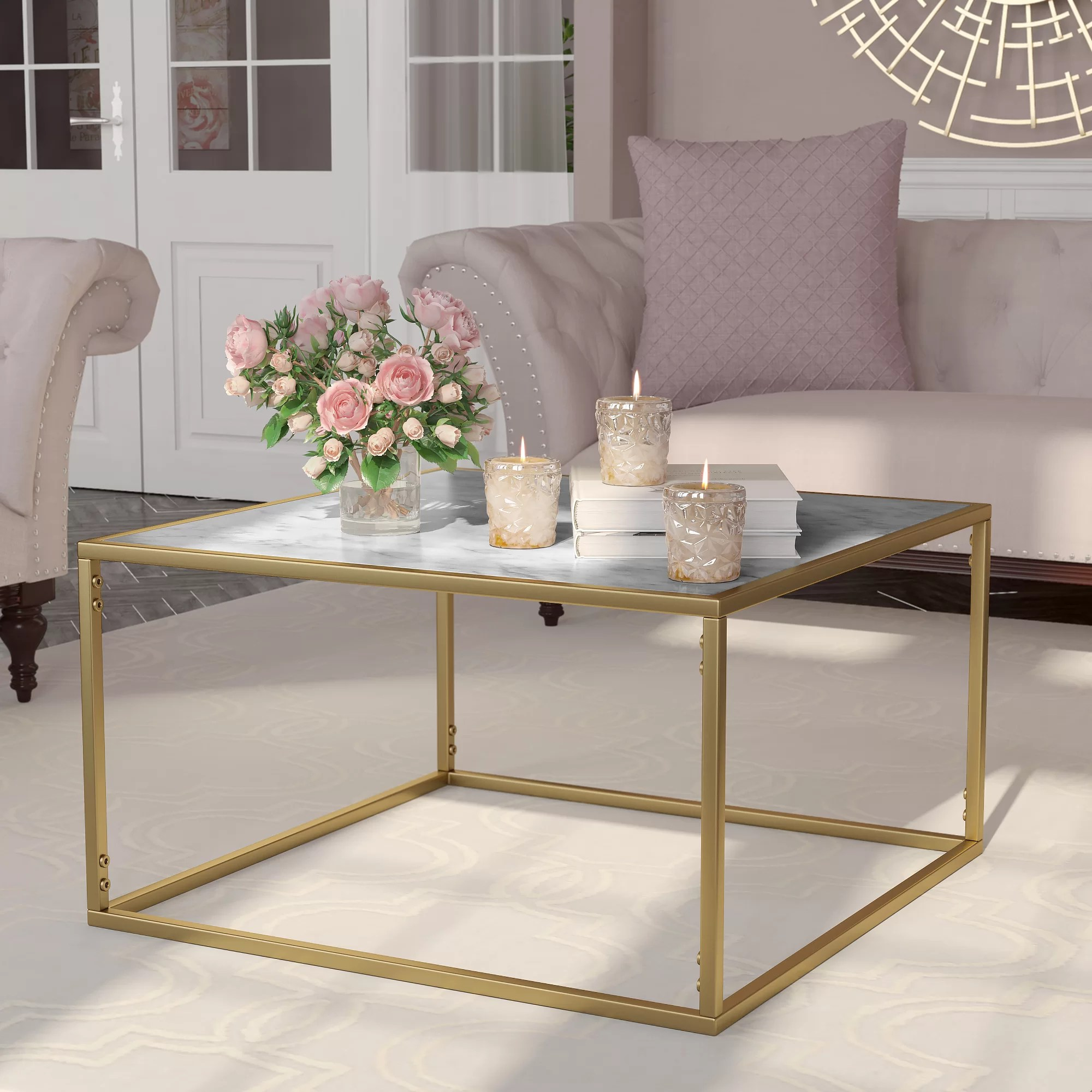 Metal Coffee Table Square Coffee Tables You Ll Love Wayfair