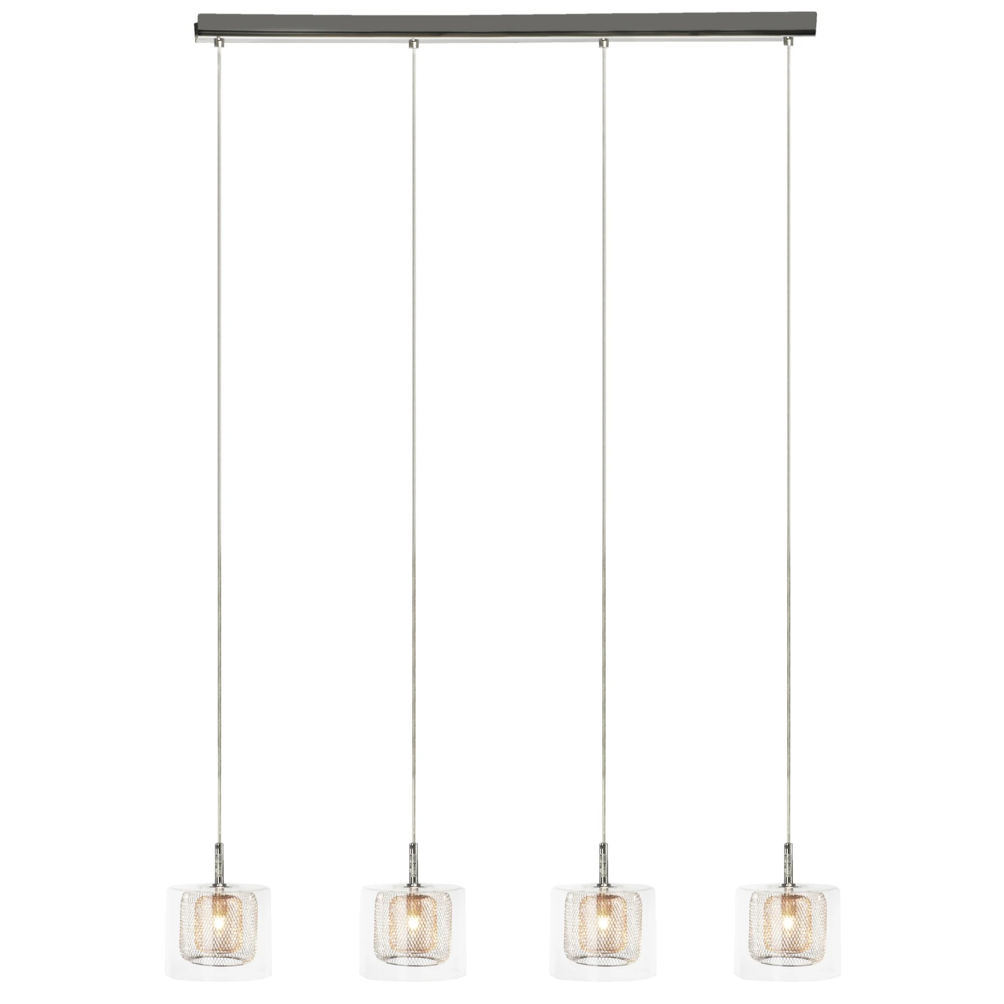 Balken Pendelleuchte Prestington Balken Pendelleuchte 4 Flammig Magic Wayfair De