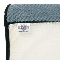 Petmaker Orthopedic Memory Foam Bolster Dog Bed with ...