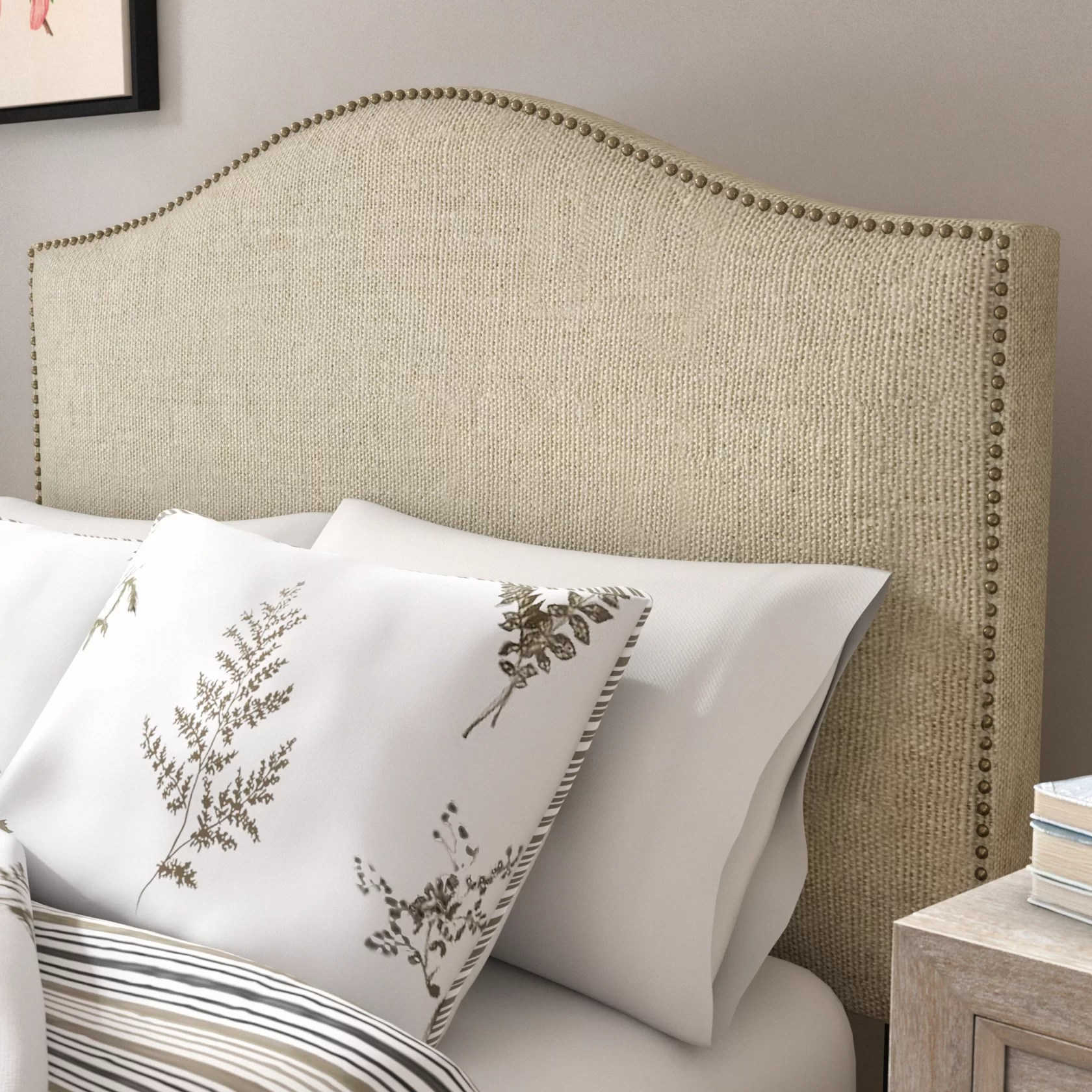 Bed Headboard Pesmes Upholstered Panel Headboard